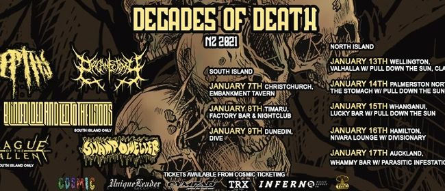 Decades of Death 2021 TIMARU - South Canterbury District ...