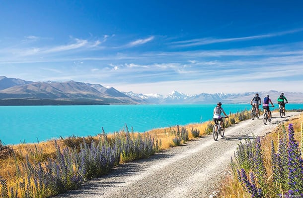 Alps 2 Ocean cycle trail-Twizel-Mackenzie District-South Canterbury-1col