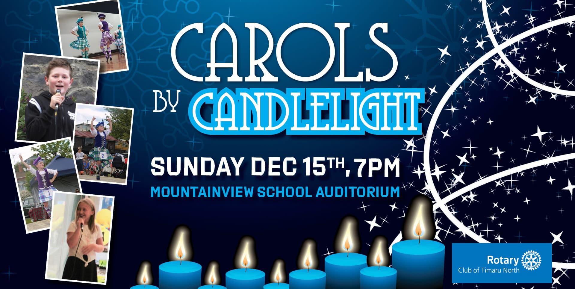 Carols by candlelight Timaru