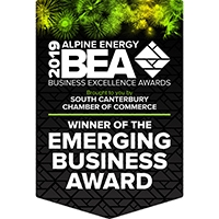 Emerging-Business-Award-2019_Winner-Flag_South-Canterbury_Business-Excellence-Awards