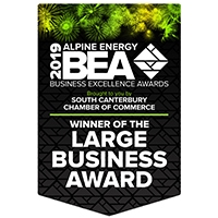 Large-Business-Award-2019_Winner-Flag_South-Canterbury_Business-Excellence-Awards