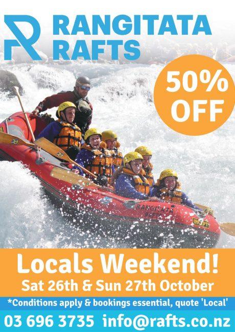 Rangitata Rafts Locals Weekend