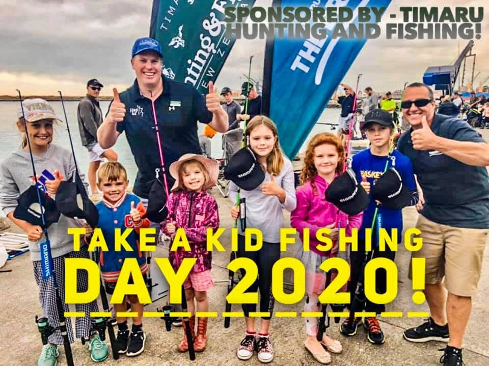 Take a kid fishing day 2020