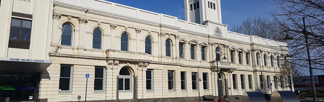 Timaru District Council building-Timaru-South Canterbury-New Zealand-2col