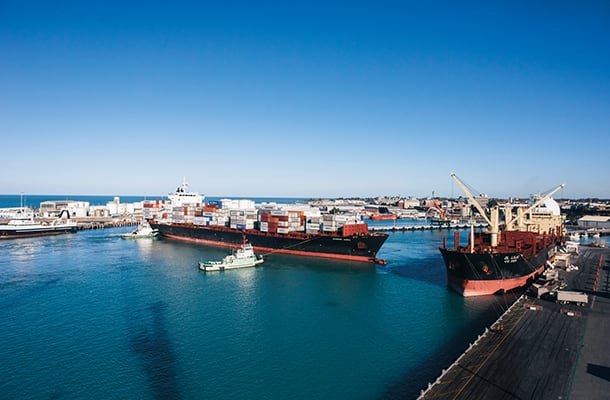 Timaru port-South Canterbury-1col