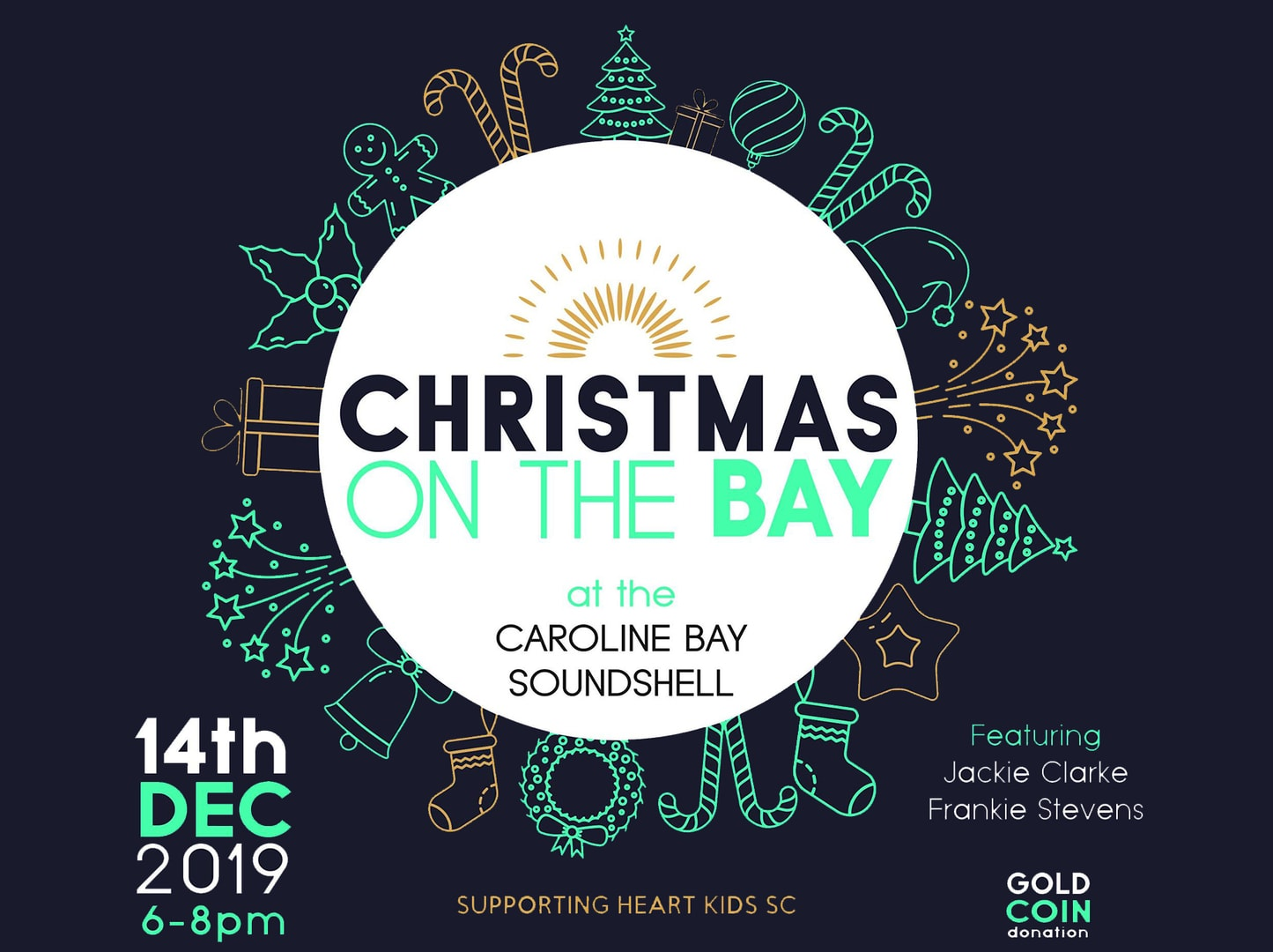 Christmas On the Bay Outdoor Concert Caroline Bay Soundshell Timaru